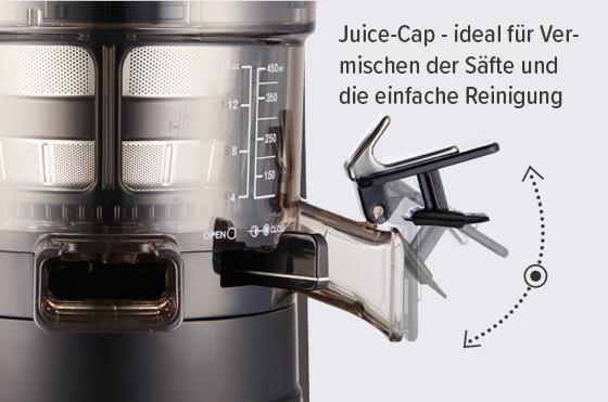 Hurom HZ Entsafter Juice-Cap
