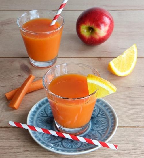 Vitamine im Glas - Rohkost Rezept für Entsafter und Saftpresse