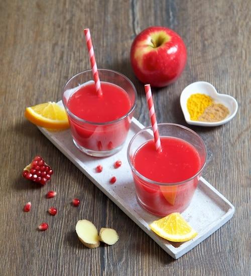 Würziger Apfel - Rohkost Rezept für Entsafter und Saftpresse