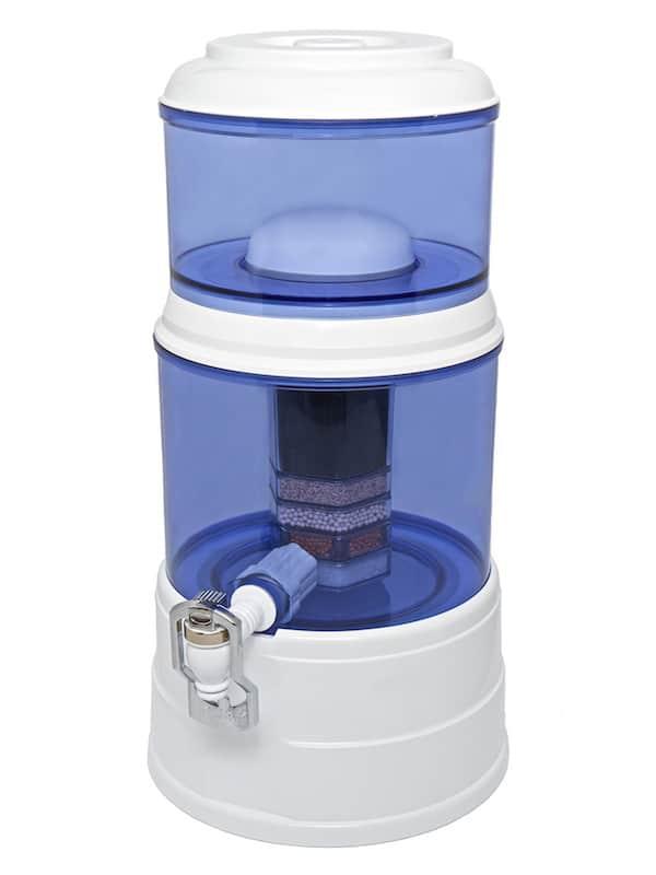 AcalaQuell Mini Weiss-Blau Wasserfilter Jahrespaket