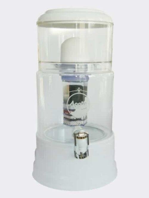Wasserfilter AcalaQuell Smart Weiss Kristallklar Glas