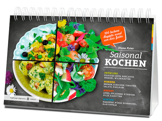 Buch Saisonal Kochen von Diana Pyter