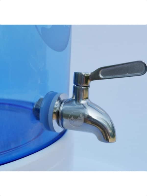 Acala Quell Edelstahl Wasserhahn