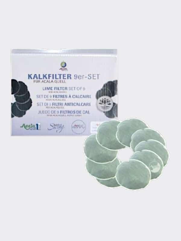 Kalkfilterset für Acala Quell Kannenfilter