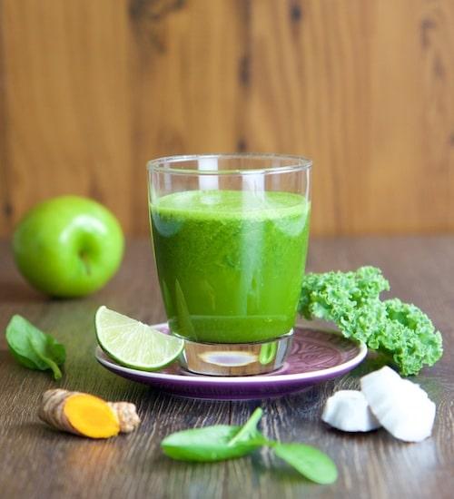 Rezept Grüne Liebe Saft