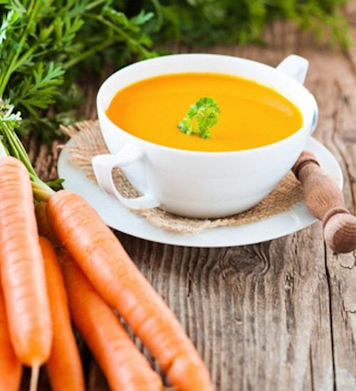 Rohkost Rezept: Karotten-Suppe - Für Eine Gesunde Ernährung