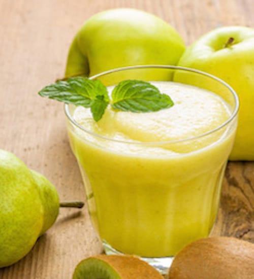 Apfel-Kiwi-Saft