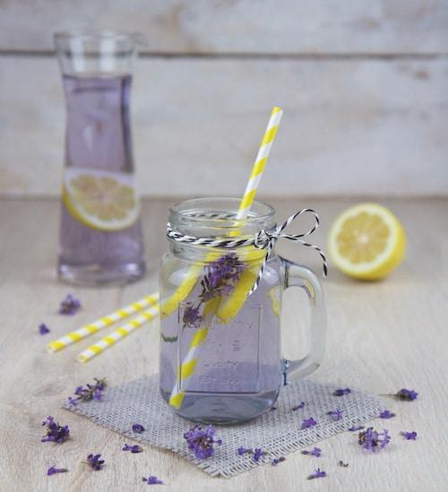 Saft Rezept Lavendel Wasser