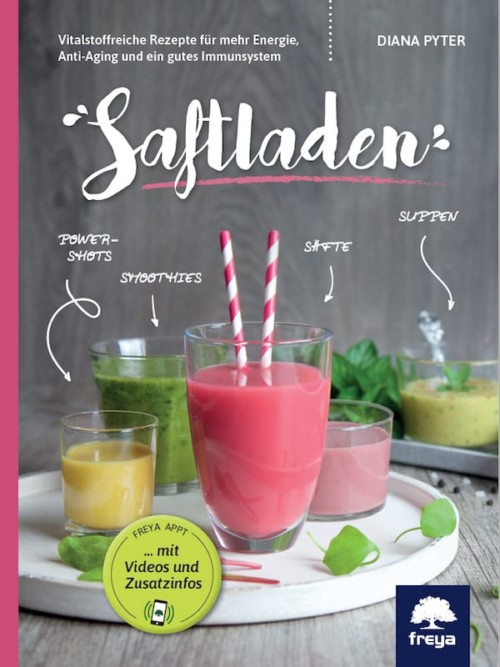 """Buch """"Saftladen"""" von Diana Pyter"""