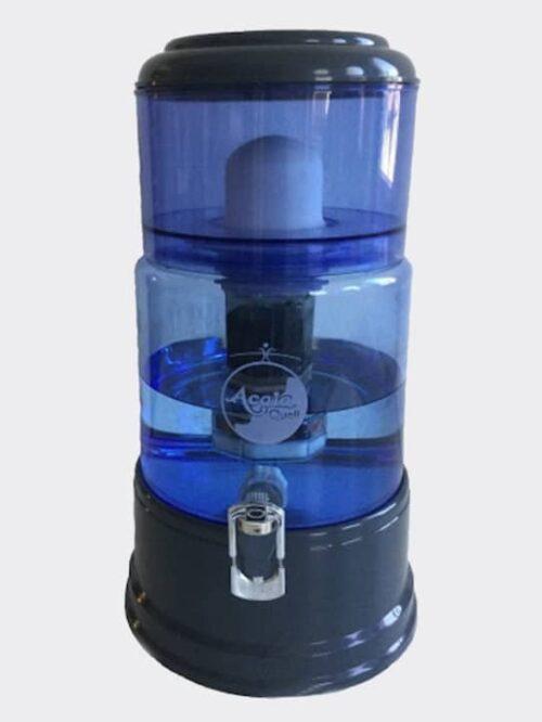 Wasserfilter AcalaQuell Smart Anthrazit Blau Glas