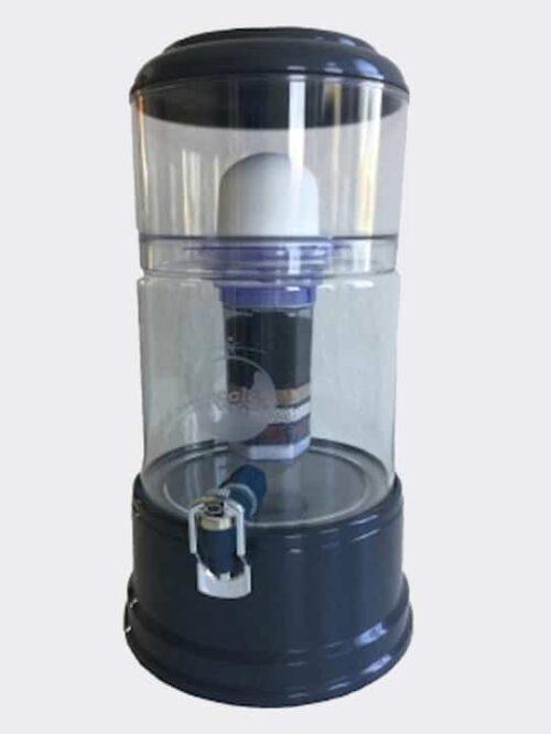 Wasserfilter AcalaQuell Smart Anthrazit Kristallklar Glas
