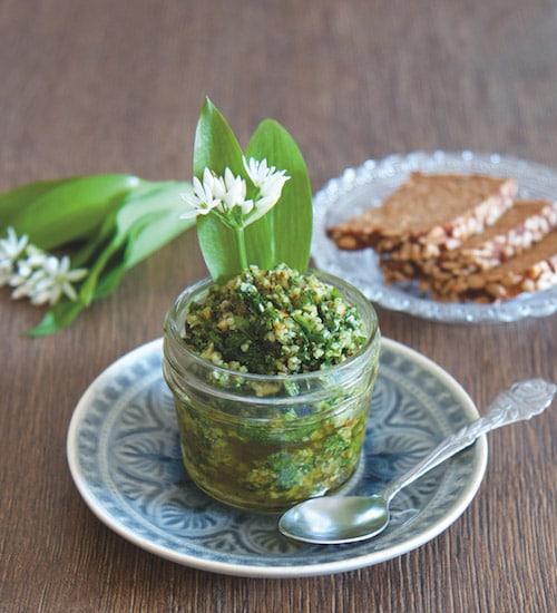 Rohkost Rezept: Bärlauch-Nuss-Pesto - Für Eine Gesunde Ernährung