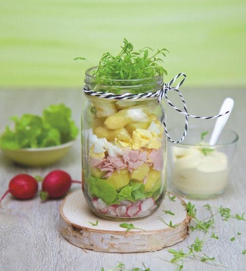 Rohkost Rezept: Spargel-Salat Im Glas - Für Eine Gesunde Ernährung