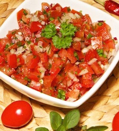 Rohkost Rezept: Tomatensalat - Für Eine Gesunde Ernährung